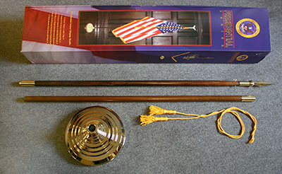 Indoor Mounting Set with Spear Blank without flag